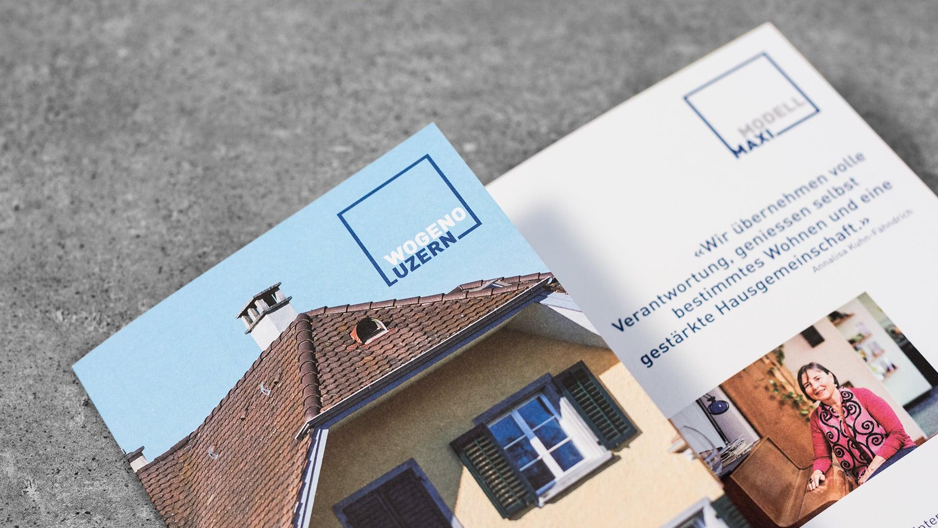 lequipe visuelle grafik agentur luzern emmenbruecke wogeno luzern geschaeftsbericht layout editorial