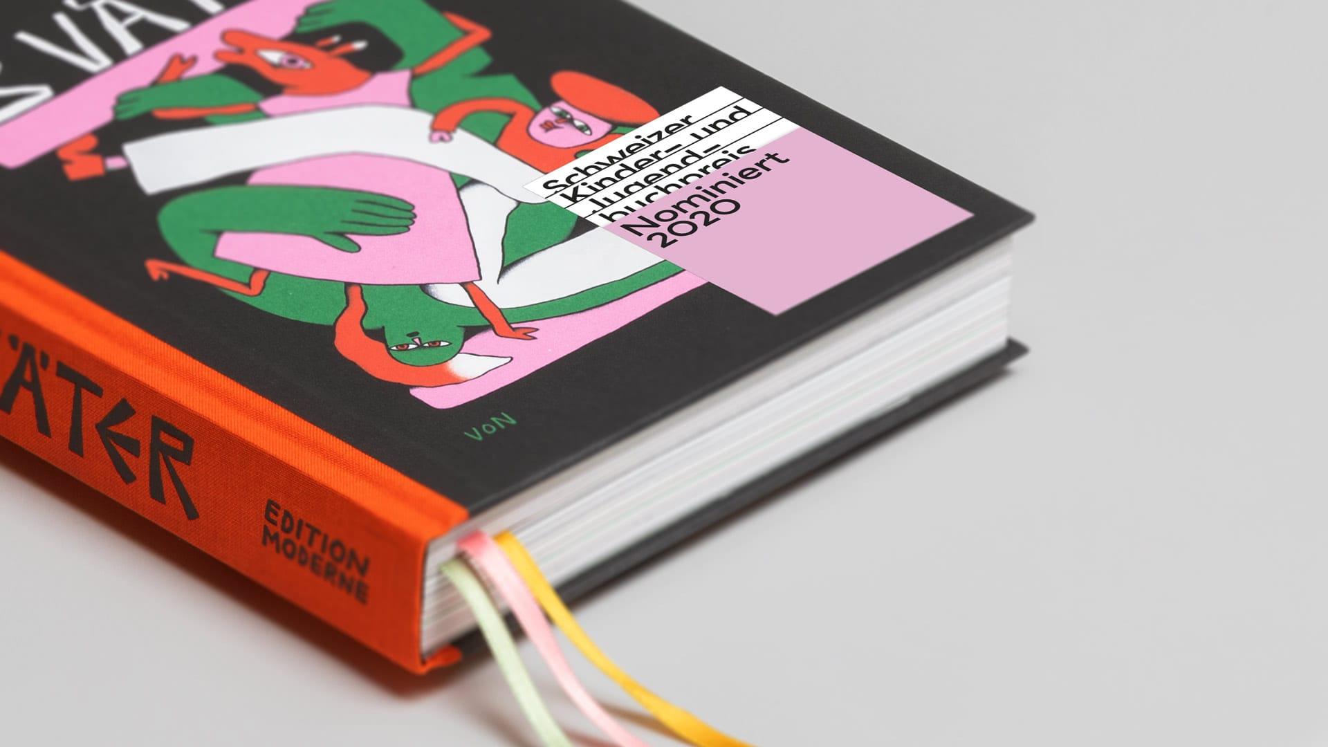 Schweizer Kinder und Jugendbuchpreis – l'équipe visuelle – Corporate Design
