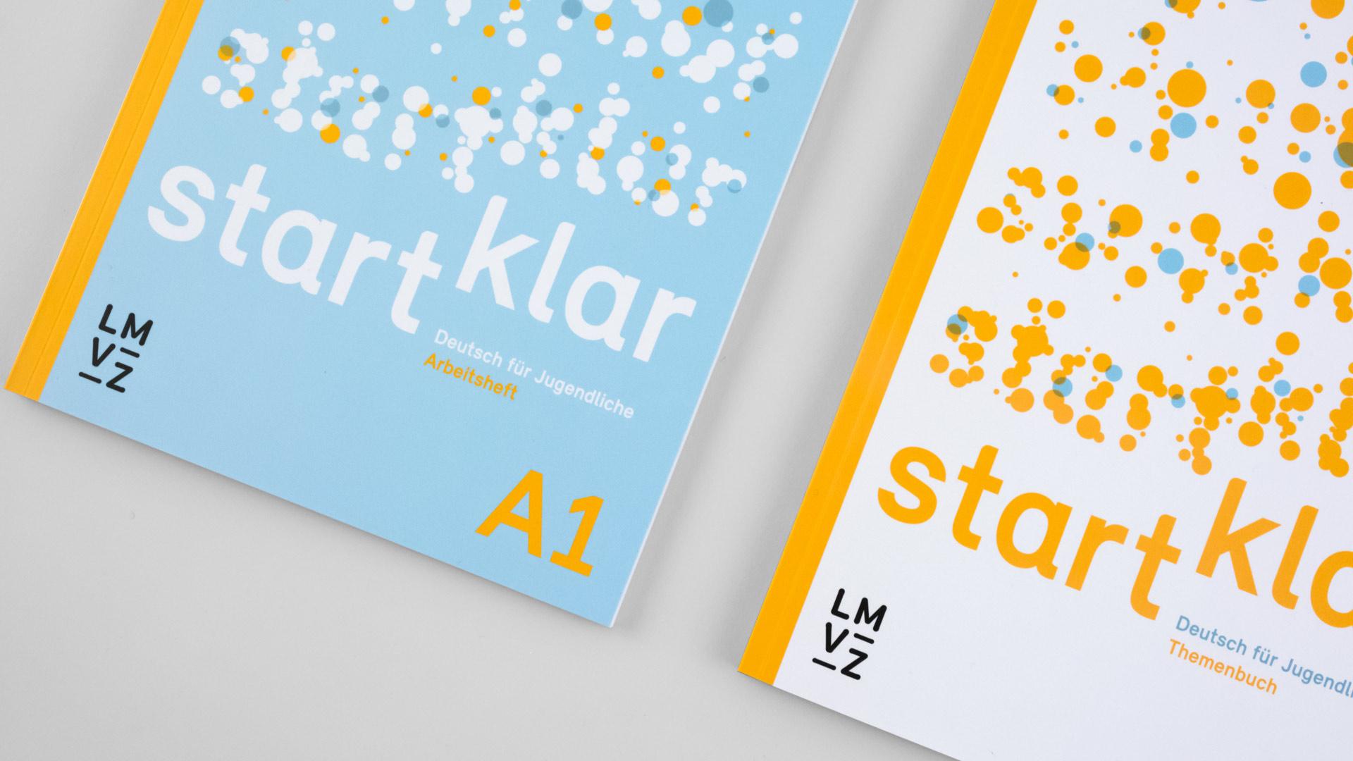 l'équipe [visuelle] – Grafik Werbung Agentur Luzern Emmenbruecke – Lehrmittelverlag-Zuerich – startklar Lehrmittel, Deutsch als Zweitsprache A1