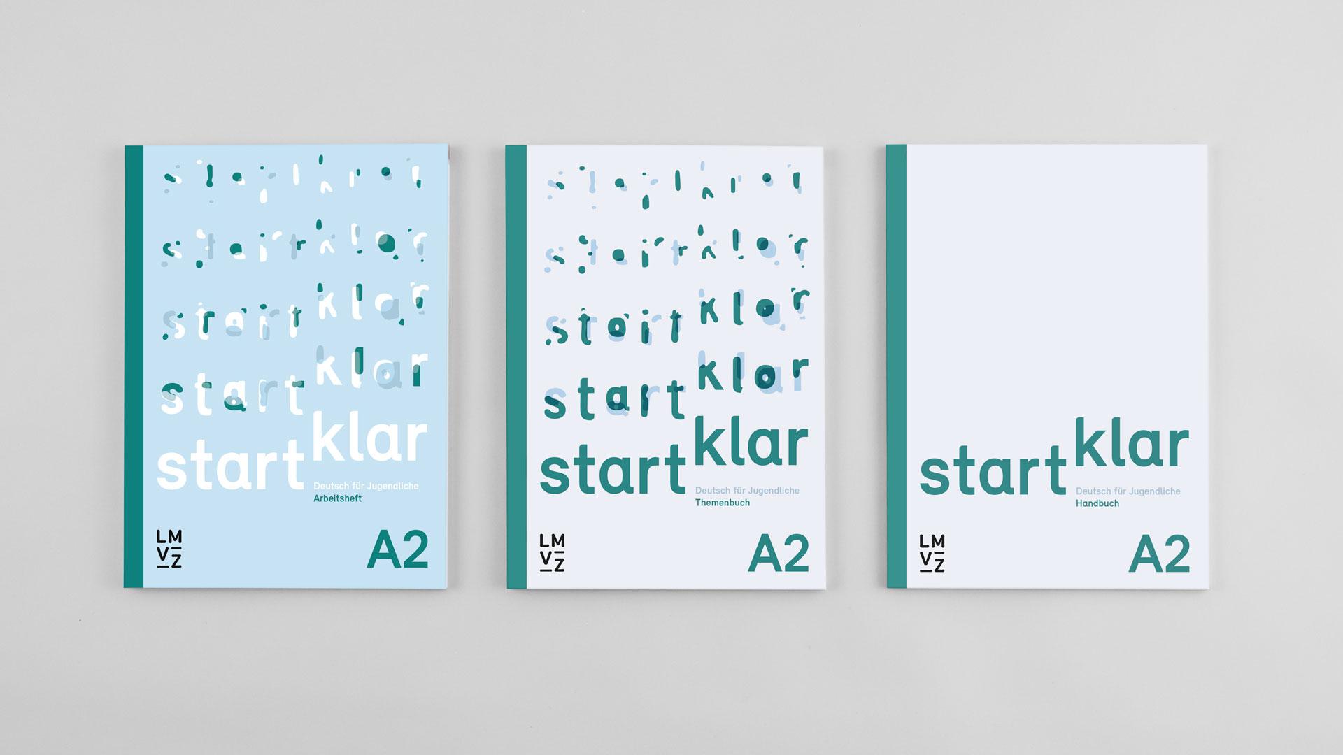 l'équipe [visuelle] – Grafik Werbung Agentur Luzern Emmenbruecke – Lehrmittelverlag-Zuerich – startklar Lehrmittel, Deutsch als Zweitsprache A2