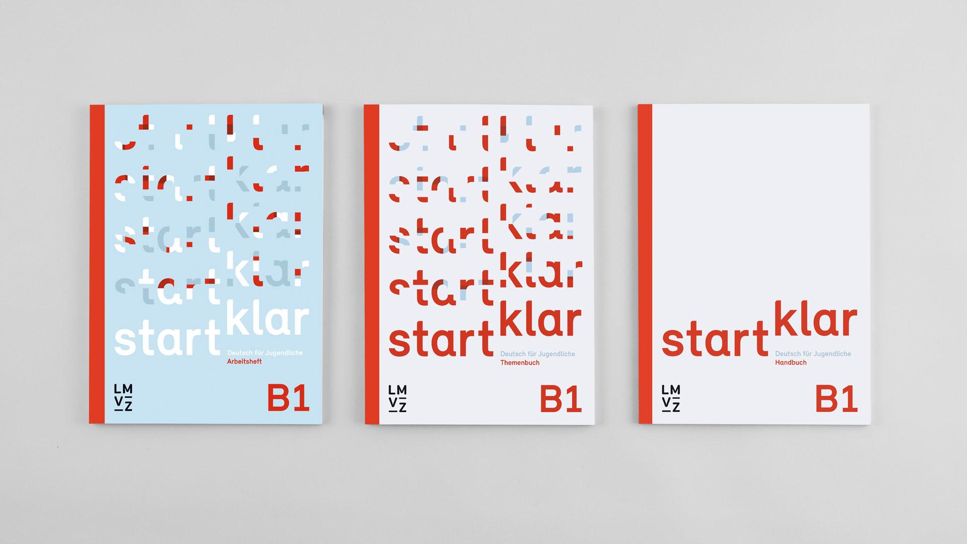 l'équipe [visuelle] – Grafik Werbung Agentur Luzern Emmenbruecke – Lehrmittelverlag-Zuerich – startklar Lehrmittel, Deutsch als Zweitsprache B1