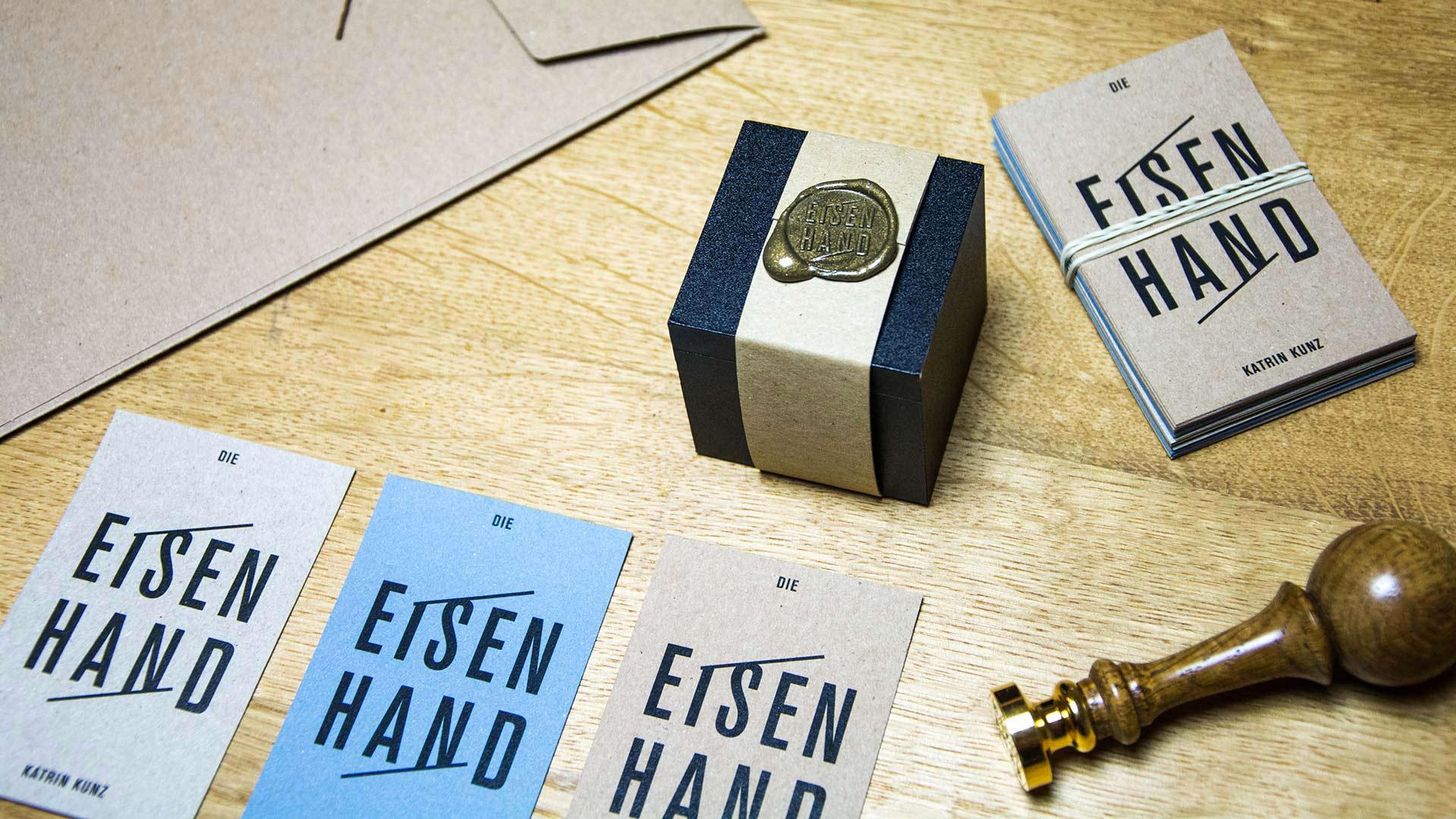 l'équipe [visuelle] Die Eisenhand Katrin Kunz Corporate Design Web Design