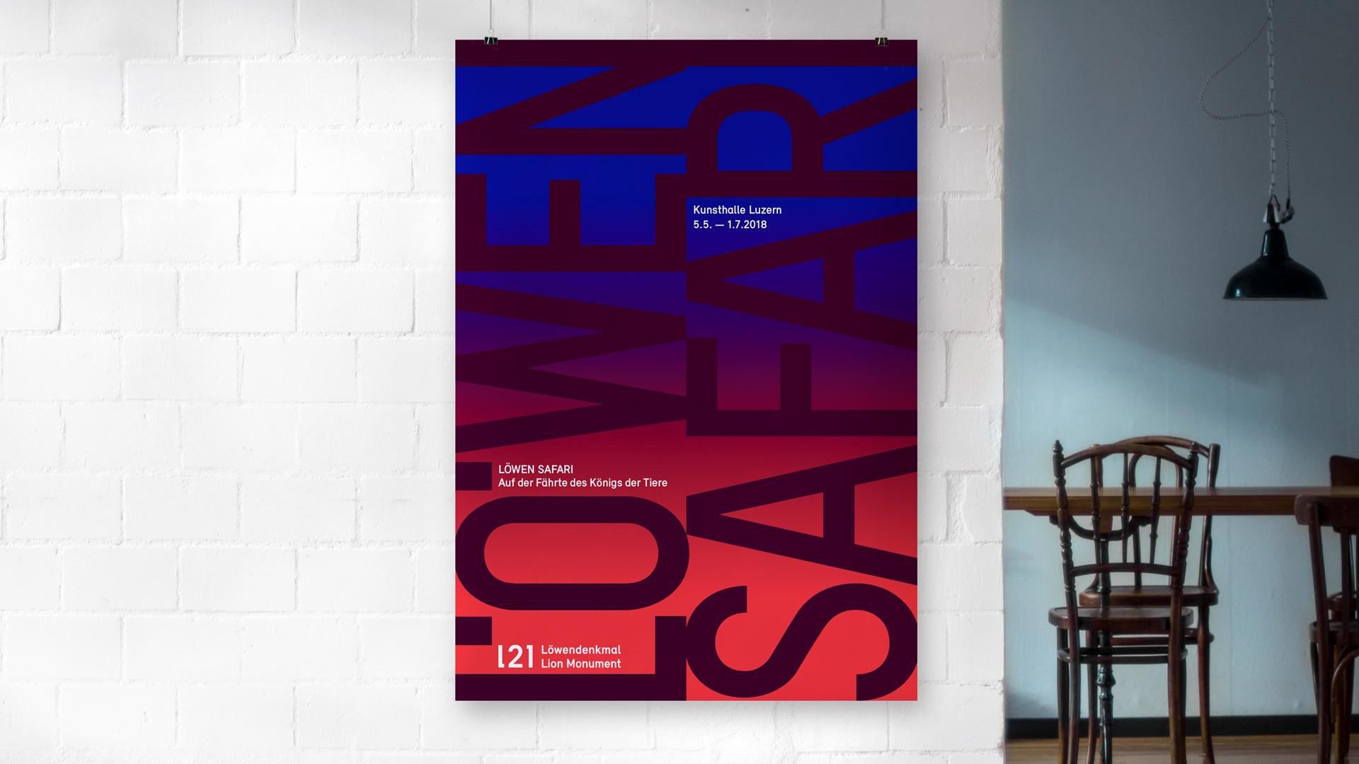 l'équipe [visuelle] – Die Kunsthalle Luzern nimmt das 200-Jahr-Jubiläum des Luzerner Löwendenkmals in ihrer unmittelbaren Nachbarschaft zum Anlass, das weltberühmte Denkmal in einem Mehrjahresprojekt mit künstlerischen Mitteln sowie transdisziplinär zu ergründen. Unsere Leistung: Erstellen des Corporate Design und Logos als Produktmarke der Kunsthalle Luzern. Gestaltung und Programmierung der Miniwebsite, . Gestaltung der Wordpress CMS Webseite und diverse Printprodukte wie Flyer, Sticker, Plakate, etc.