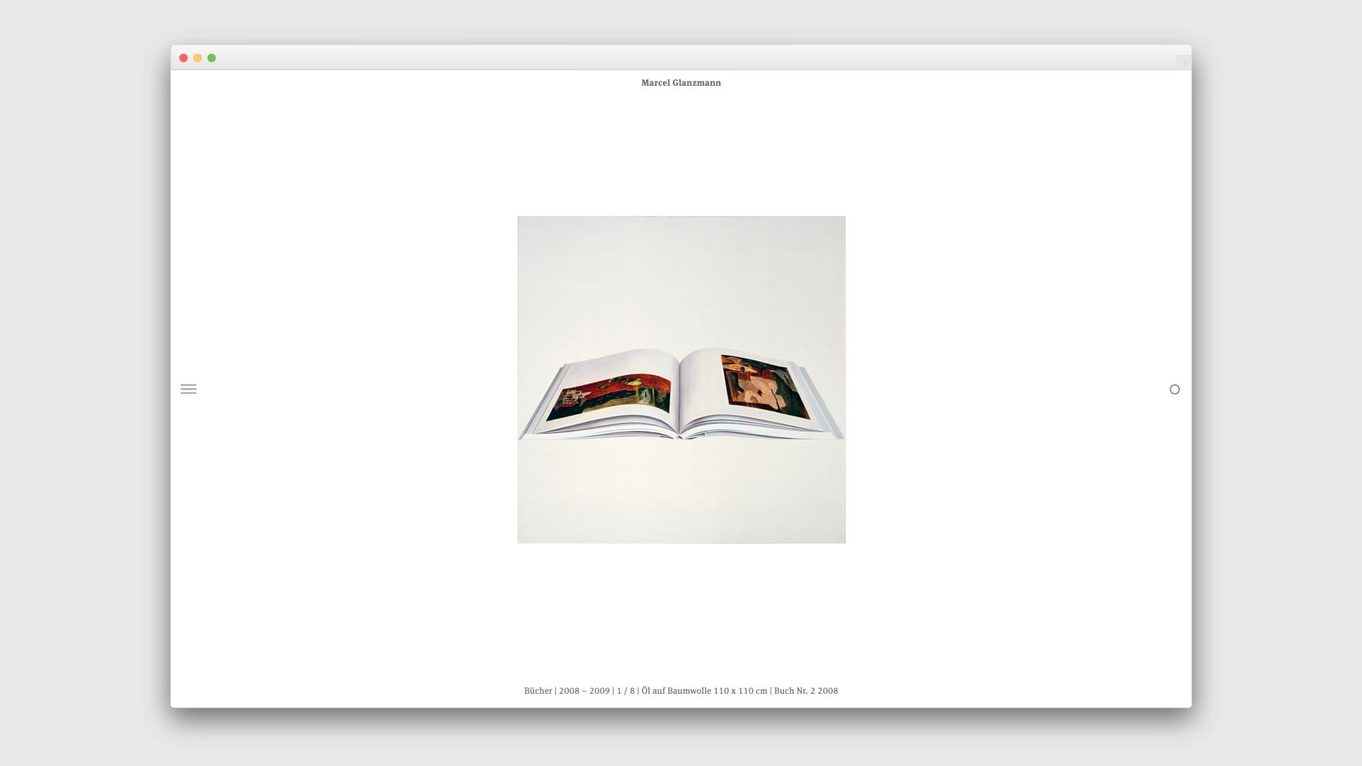 Webdesign für Marcel Glanzmann – freischaffender Künstler und visueller Gestalter — l'équipe visuelle — Grafikatelier