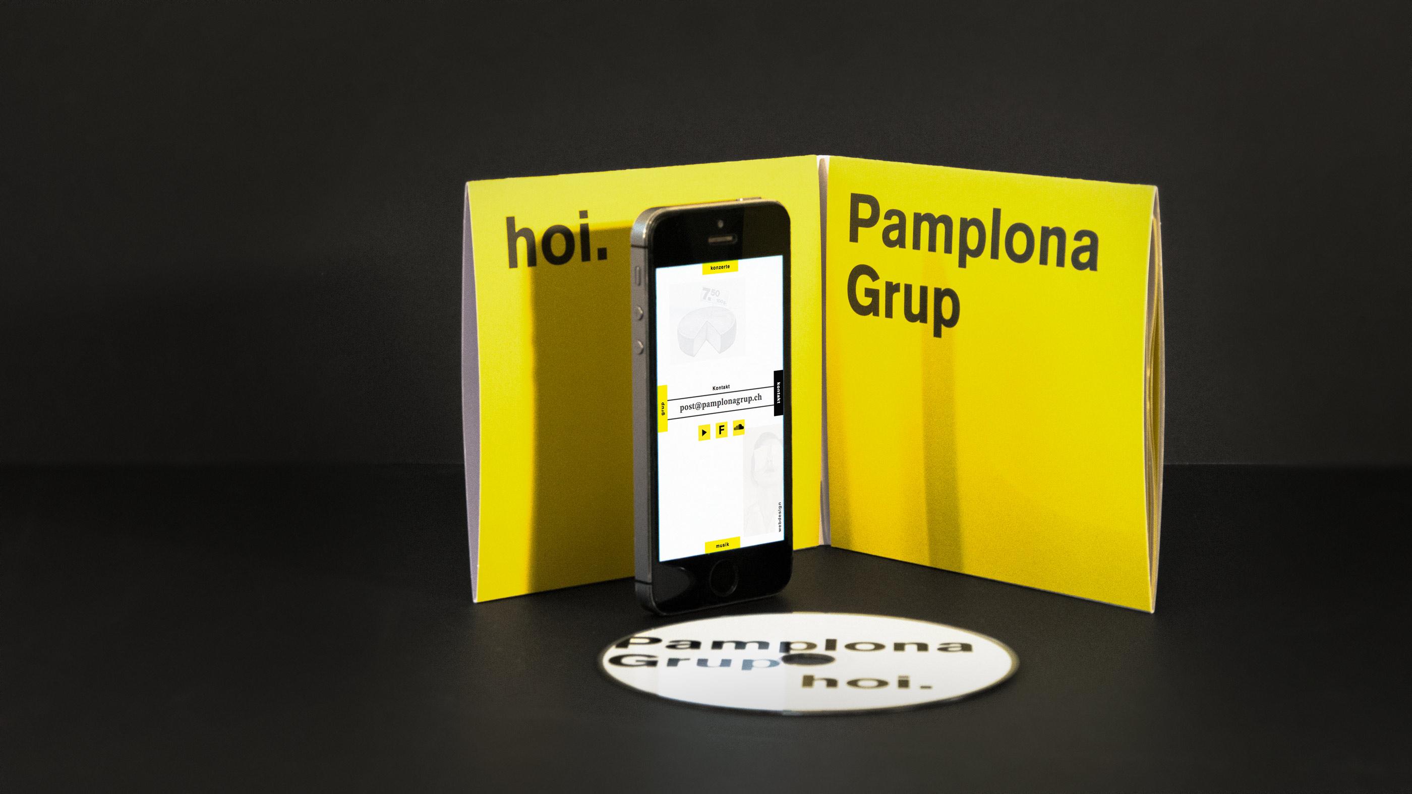 l'équipe [visuelle] – Pamplona Grup – Artwork, Digipack, Plakatgestaltung, Worldmusic, Webdesign, Responsive, Web-Programming, Migros Körbli