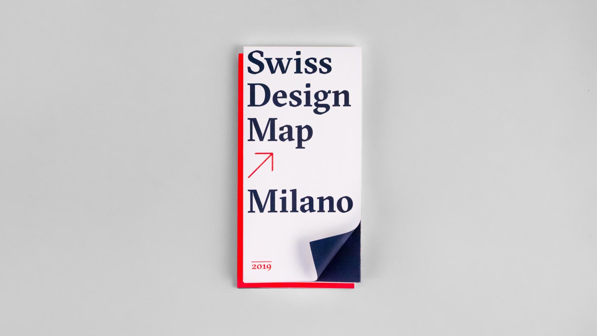 l'equipe visuelle Grafik Werbung Agentur Swiss Design Map Milano Milan Mailand Karte Corporate Design Schweizer General Konsulat Mailand